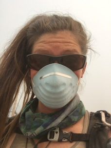 Smoke masks from North Bend in Snoqualmie